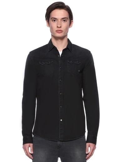 Scotch & Soda Uzun Kollu Gömlek Siyah